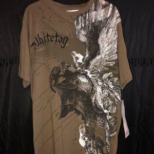 NWT White tag men's Designer shirt
